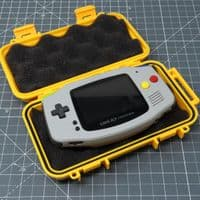 Coloured ABS Waterproof Hard Case - Yellow